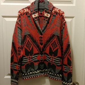 Ralph Lauren Southwest Design Sweater